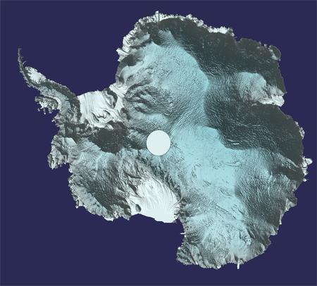 La Antártida en 3D gracias a la misión Cryosat de la ESA