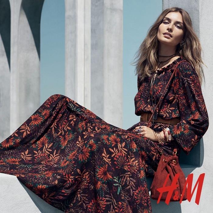 Foto de H&M catálogo Otoño-Invierno 2015 con Andreea Diaconu (1/6)