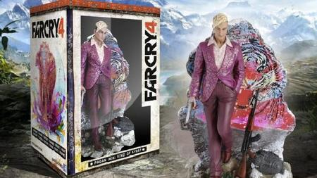 Ubisoft revela figura coleccionable de Far Cry 4