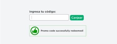 Cómo canjear los promocodes o códigos gratis de Roblox