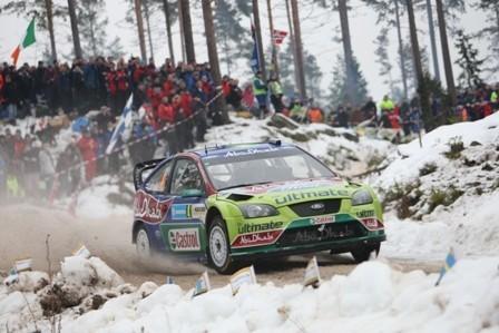 Latvala continúa con su inalcanzable ritmo en Suecia