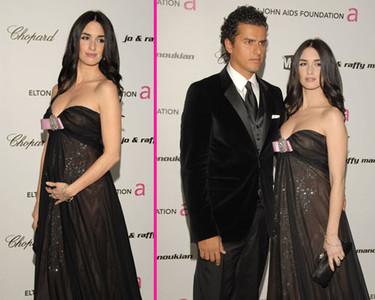 Paz Vega también estuvo en la fiesta de los Oscars