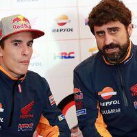 """El ingeniero de pista de Marc Márquez se moja: """"No sería normal que Honda le sustituyese con Andrea Dovizioso"""""""