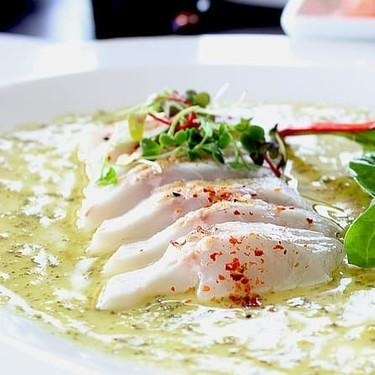 Pescado en salsa verde estilo Campeche. Receta de la cocina tradicional mexicana