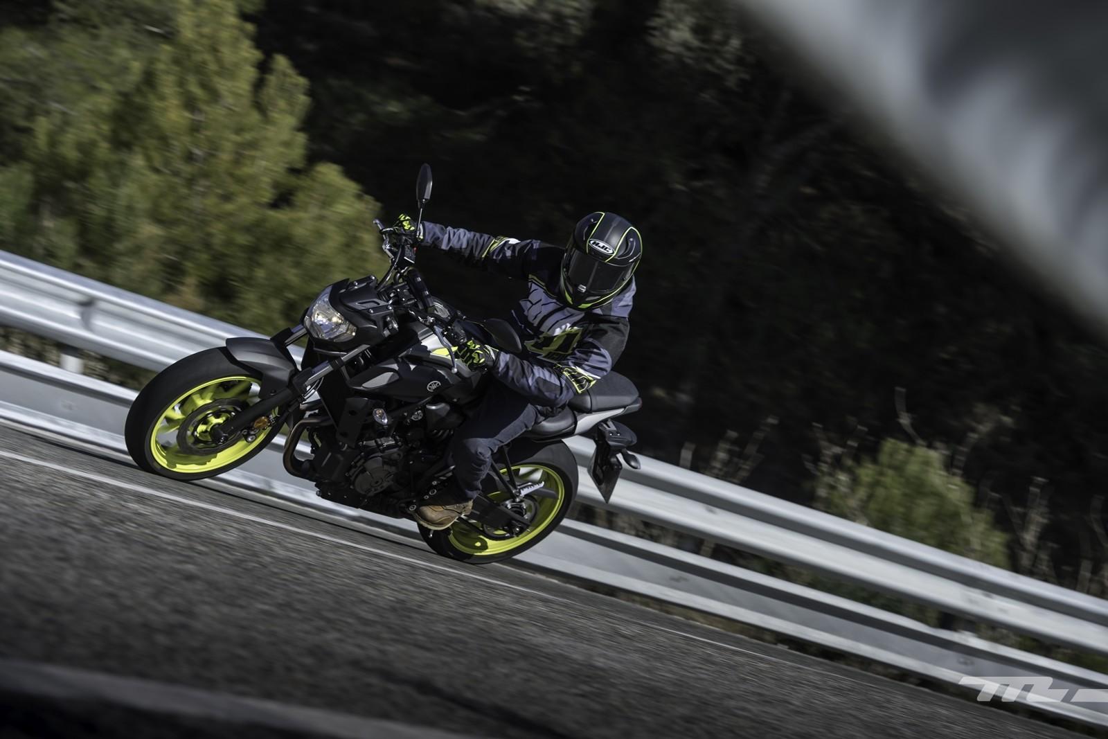 Foto de Yamaha MT-07 2018, prueba (7/56)