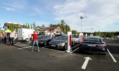 Noruega Tesla Supercargador
