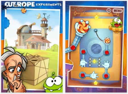 Cut The Rope Experiments, gratis por tiempo limitado en la App Store