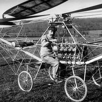 Este francés fue la primera persona que voló en helicóptero