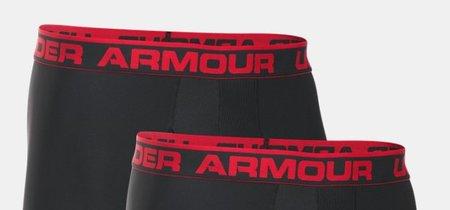 """Set de dos calzoncillos Under Armour Men's Original Series 6"""" Boxerjock por 12,06 euros en Amazon"""