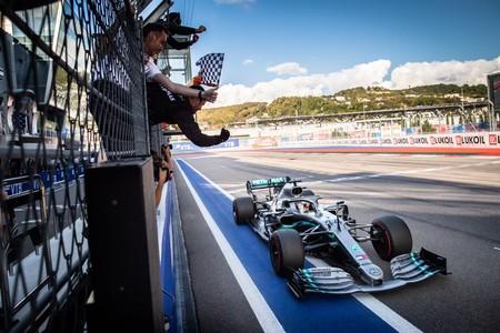 Hamilton Rusia F1 2019