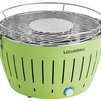 Atención: barbacoa de carbón sin humo LotusGrill G-GR-34 en  color lima por 141,38 euros en Amazon con envío gratis