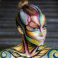 Lo más alucinante del Festival de Body Painting, ¡qué se aparte el contouring de las Kardashian!