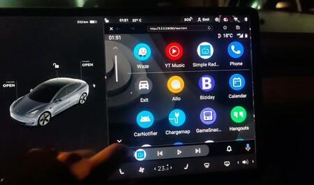 Android Auto Tesla