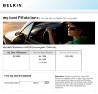 Belkin te ayuda a sintonizar tu reproductor MP3