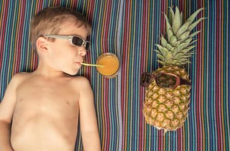 Cómo conseguir que los niños coman fruta: cinco claves