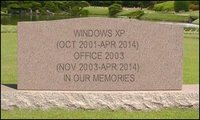 A partir de abril de 2014 RIP a Windows XP y Office 2003
