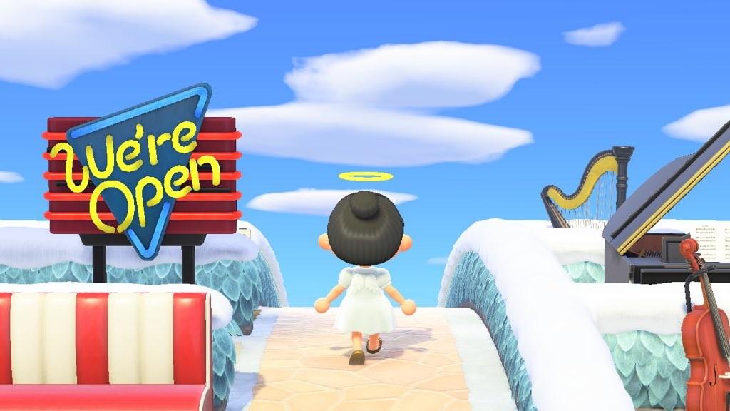Esta isla de Animal Crossing tiene todos los objetos como si fuese un supermercado gigante. Y tú también puedes ir a comprar