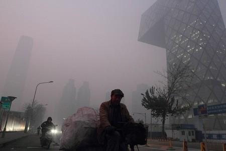 Siete autopistas cerradas en Pekín por contaminación