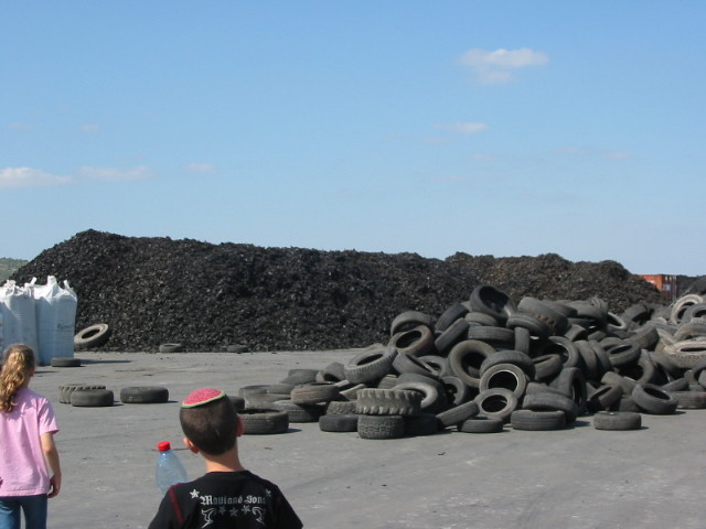 Tires And Shredded