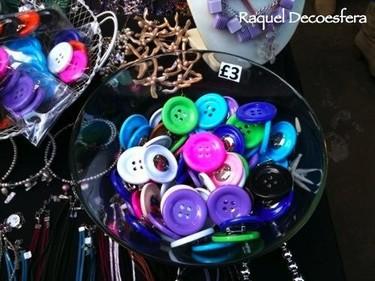 Una buena idea: botones para decorar