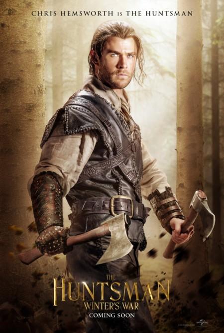 'El cazador y la reina del hielo', carteles de la secuela de 'Blancanieves y la leyenda del cazador'