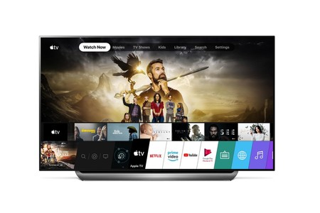 App Apple TV en televisor LG