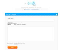 Snipt, comparte fragmentos de código en redes de microblogging