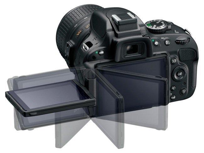 Nikon D5100 y su pantalla abatible