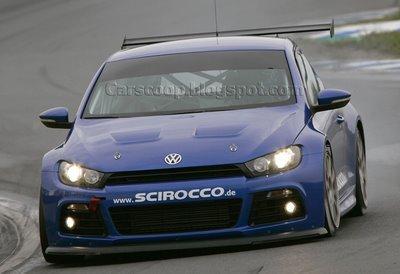 El nuevo VW Scirocco debuta antes de las 24 horas de Nurburgring