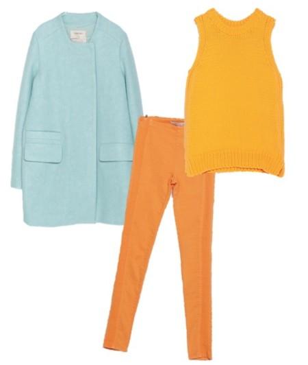 outfit pantalon y abrigo