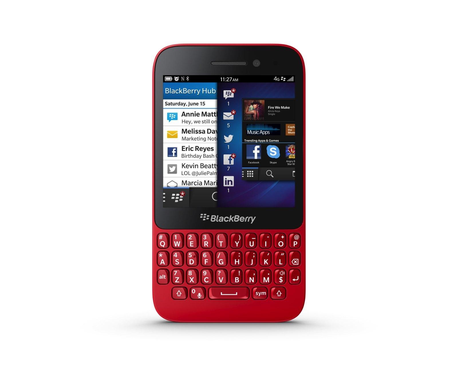 Foto de Blackberry Q5, presentación oficial (5/9)