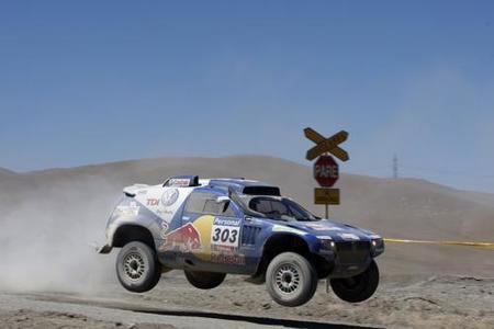Primera victoria de Carlos Sainz en el Dakar 2010