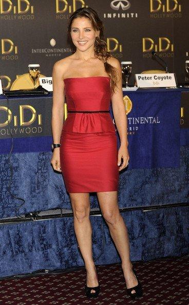 El look de Elsa Pataky en la presentación de Didi Hollywood