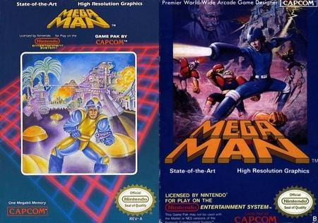 Mega Man (EEUU) vs Mega man (Europa)