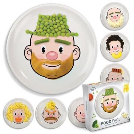 Food Face: un plato para jugar con la comida