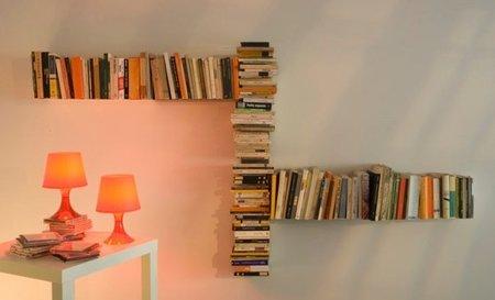 TEEbooks, estantes casi invisibles para libros