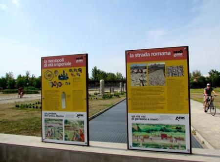 NoviArk Parque arqueológico Módena