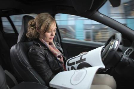 En 2017, a bordo de este Volvo, podrás leer o navegar por Internet sin preocuparte de la conducción