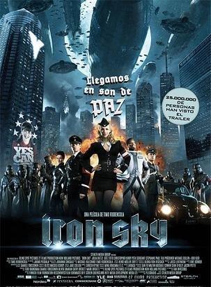 Cartel de 'Iron Sky'