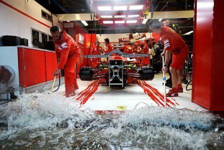 La lluvia sigue marcando la pauta en los últimos libres en Monza