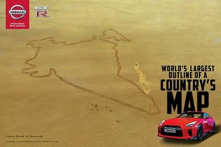 Nissan GT-R La India