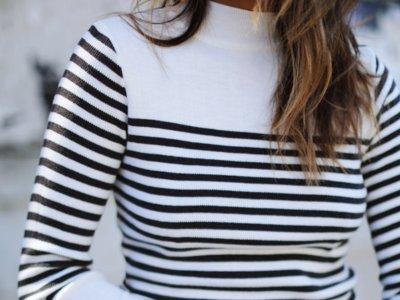 El invierno se viste con jerséis a rayas marineras