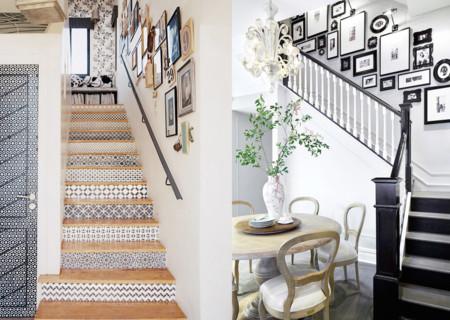 ideas para darle color y estilo a las escaleras de tu casa