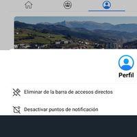 Cómo eliminar los puntos rojos de notificaciones de la barra de accesos directos de Facebook