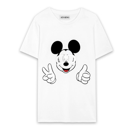 Camiseta Solidaria Mickey By Alvarno
