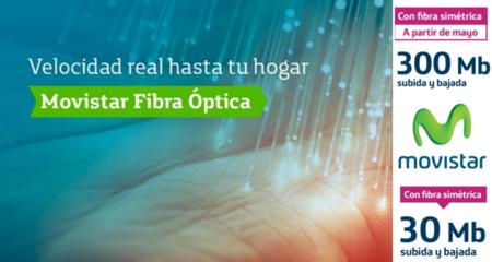 Movistar confirma la llegada de la fibra simétrica en mayo