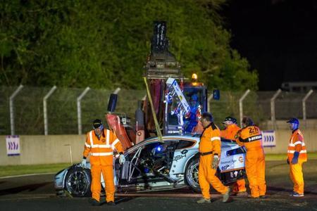 24 horas de Le Mans 2014: Aston Martin pierde uno de sus LMGTE Pro