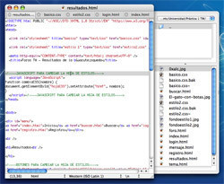 ForgEdit: Sencillo editor de código para programadores