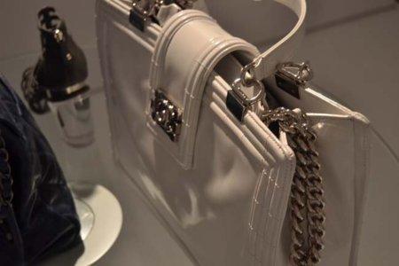 Blanco bolso Chanel colección Primavera-Verano 2012