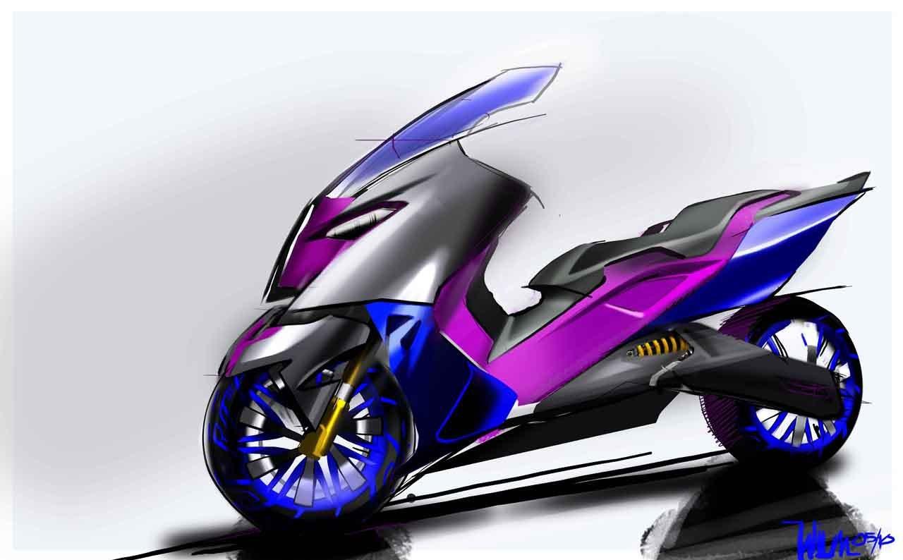 BMW Concept C Scooter, el Scooter del futuro según BMW